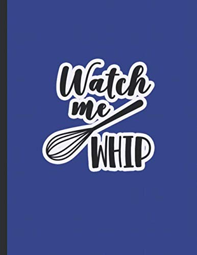 Watch Me Whip: Gifts for Bakers | Customer Order Log Book