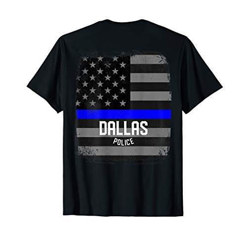 City of Dallas Police Officer Texas Policeman T-Shirt]()