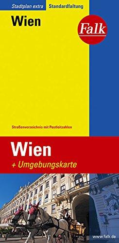 Falk Stadtplan Extra Standardfaltung Wien 1:21 500 (Falk Stadtplan Extra Standardfaltung - Deutschland)