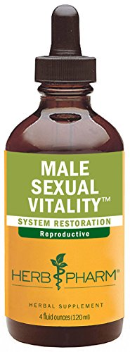 Herb Pharm Male Sexual Vitality Herbal Formula for Healthy Sexual Function in Men - 4 Ounce (Sarsaparilla Root Jamaican)