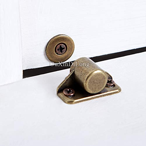 HOT 10PCS Kitchen Cabinet Catches Door Latch Clips Cupboard Cabinet Door Catches Stops Closet Wardrobe Furniture Hardware - (Color: A2) by Kasuki (Image #4)