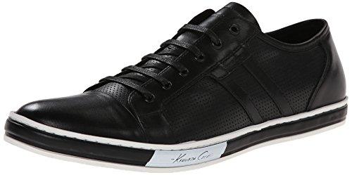 Kenneth Cole New York Men's Brand-Wagon LE Fashion Sneaker, Black, 12 M US