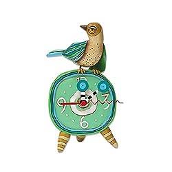 Allen Designs Spring Tweets Bird Clock