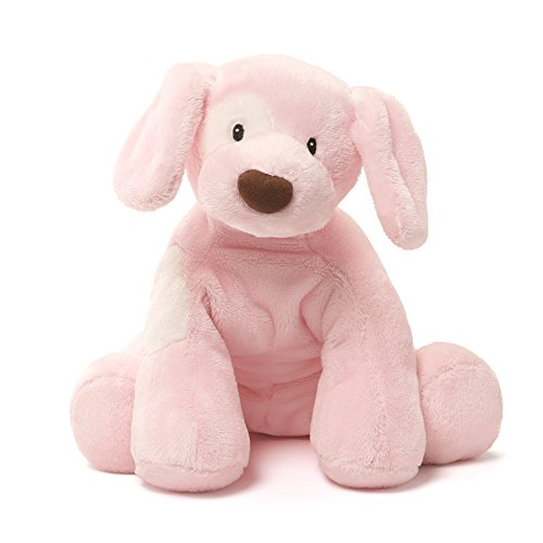 Gund Spunky Dog Baby Stuffed - White Toy Gund Dog