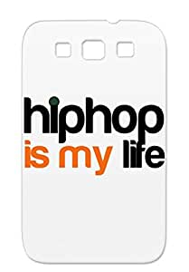 Life Treble Rap Hip Hop Cool Music Bass Swag Music Bronze Cover Case For Sumsang Galaxy S3 Hop Is My Anti-scratch