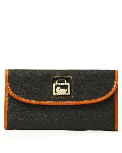 (Dooney & Bourke Continental Leather Clutch)