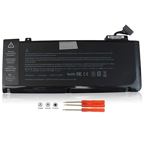 Easy&Fine Replacement A1322 Laptop Battery for MacBook Pro 13 inch A1278 Battery (2012 2011 2010 2009 Version) MB990LL/A MB991ll/A MC374ll/A MC375LL/A MC700ll/A MD101LL/A MD102LL/A