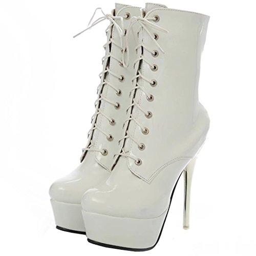 White AIYOUMEI Women's Boot White AIYOUMEI Classic Women's Women's AIYOUMEI Classic Boot wX7rH7Rq