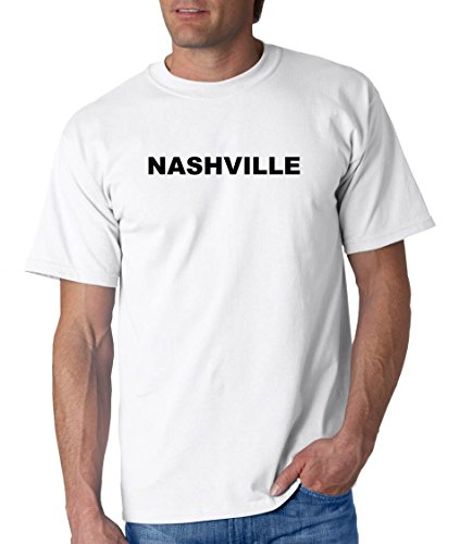NASHVILLE - City-series - White Adult T-Shirt - size - Opry Mills