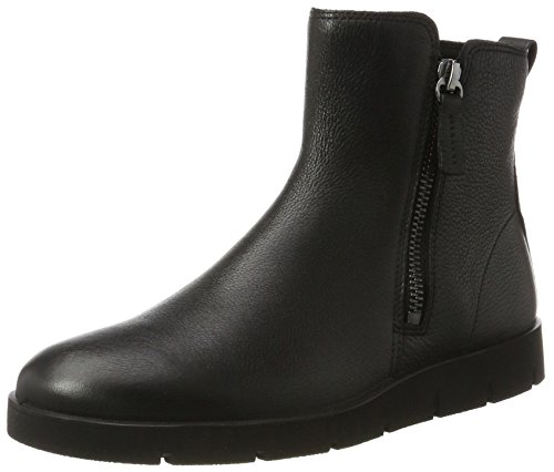 ECCO Women's Bella Zip Boot Ankle Bootie, Black, 36 EU / 5-5.5 US