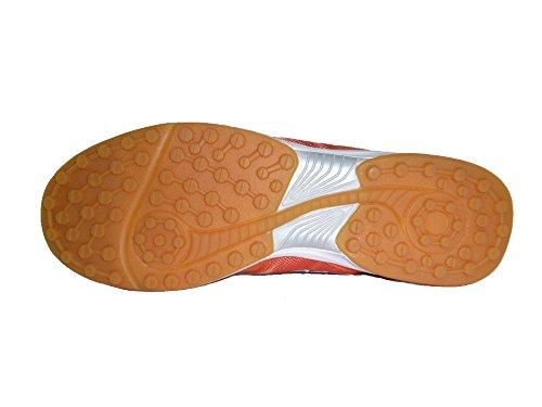 AGLA - Zapatillas de fútbol sala de Material Sintético para hombre Amarillo amarillo 27.5 naranja
