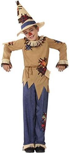 Atosa Disfraz de Espantapájaros para niño 10 a 12 años: Amazon.es ...