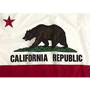 Federal Flags 3 x 5 - Feet State of California Flag