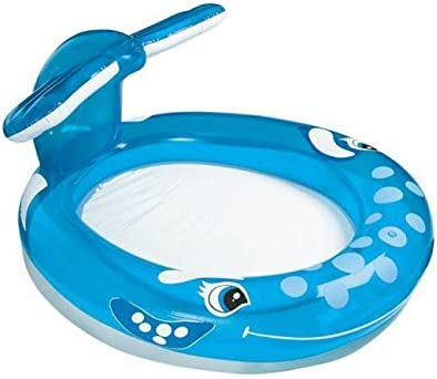 Piscina Hinchable Intex ballena 208 x 157 x 99 cm: Amazon.es ...