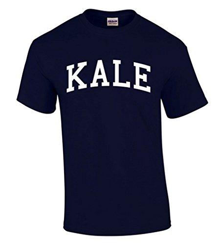 icustomworld Kale White Logo T-shirt Vegetarian Healthy Eco Style Shirts