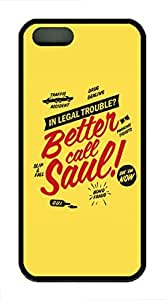 Better Call Saul TPU Case Cover for iPhone 5 and iPhone 5s Black by ruishernameMaris's Diary