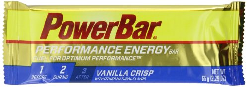 PowerBar Performance Energy Bar, Vanilla Crisp, 2.29 Ounce Bar (Pack of 12)