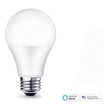 Rgb Led Smart Birne Wifi Glühbirne Dimmbar Funktioniert Mit Amazon