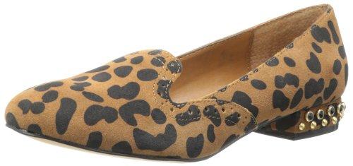DV By Dolce Vita Womens Fiera Loafer Leopard Suede