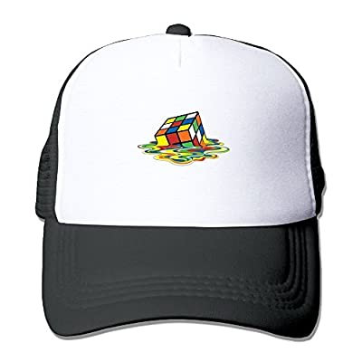 Rubix Cube Men's Women's Adjustable Snapback Hats Hip Hop Caps | Baseball Caps Mesh Back