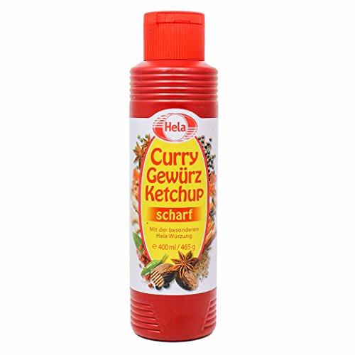 Hela Curry Gewürz Ketchup Scharf 400 ml