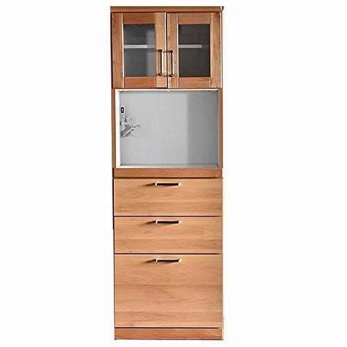 食器棚 完成品 ガーデン ナチュラル 幅60㎝ダイニングボード 引き戸 キッチン収納 棚 おしゃれ (幅60㎝ダイニングボード) B072MMK95K 幅60㎝ダイニングボード  幅60㎝ダイニングボード