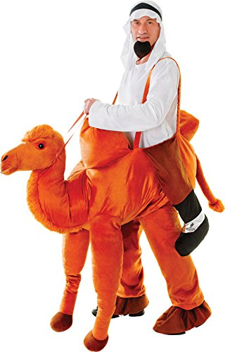 Adult Unisex Nativity Play Fancy Dress Stag Party Step On Ride in Camel Costume