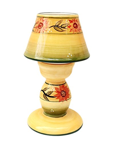 (Sunflower Garden Collection, Tea Light Lamp 7 5/8