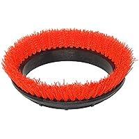 BISSELL BigGreen Commercial 237.047BG Scrub Brush, 0.028 Bristle Diameter Crimped Polypropylene for BGEM9000 Easy Motion Floor Machine, 12, Orange