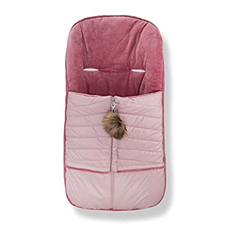 Cozy Coop Baby Quilted Stroller Bunting Mauve