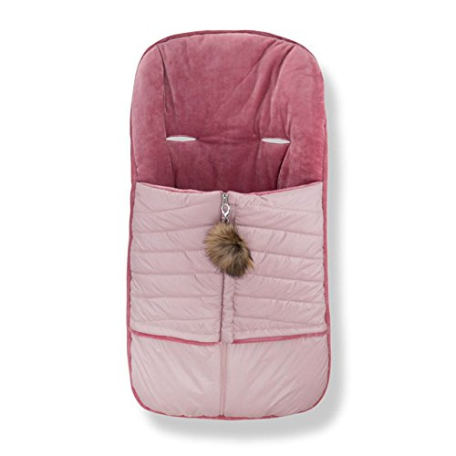 Cozy Coop Baby Quilted Stroller Bunting, Mauve by Cozy Coop