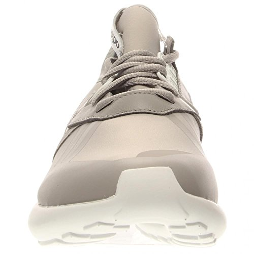 Hombres Adidas tubular Corredor Negro / Marrón 11 corrientes atléticos B35641 Grey / White