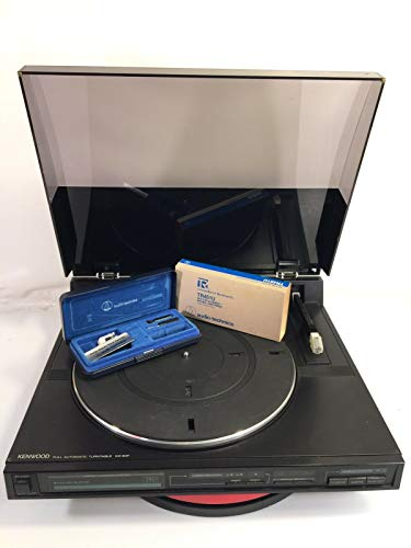 PHOENIX FINDS TREASURES Kenwood Linear Tracking Turntable Vintage Record Model KD-64F Made Japan Parts