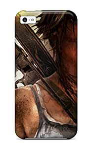 Iphone Case - Tpu Case Protective For Iphone 5c- Tomb Raider