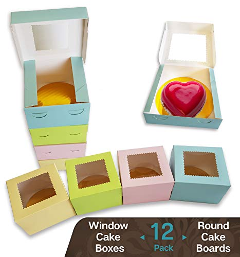 (CooKeezz Couture - Window Cake Boxes 4
