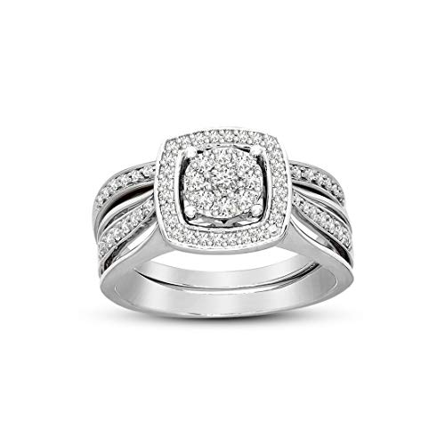 Used, 100% Pure Diamond Ring 5/8 cttw to 1 1/4 cttw Diamond for sale  Delivered anywhere in USA