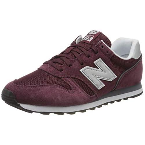 chollos oferta descuentos barato New Balance 373 Core Zapatillas Bajas Hombre Rojo Red White Cd2 40 EU