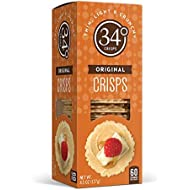 34 Degrees Original Crisps, 4.5 Ounce Boxes (Pack of 6)