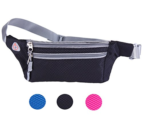 Waist Pack Bum Bag for Running Cycling Traveling - 9