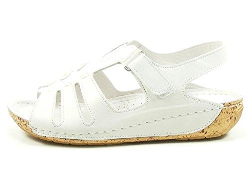 032006 Weiß Damen Schuhe Gemini 02 Sandalen Sandaletten qdCdBY