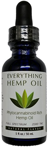 Full-Spectrum Hemp Oil: 500MG by Everything Hemp Oil