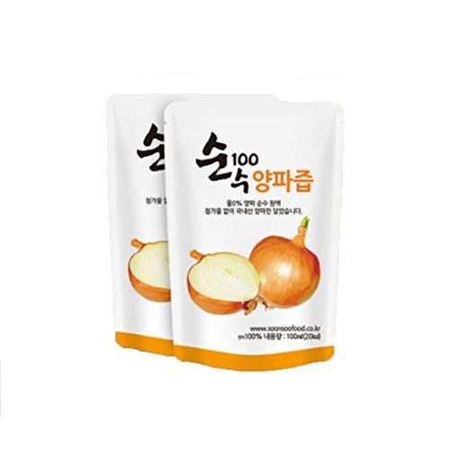 100 pure onion juice - 2