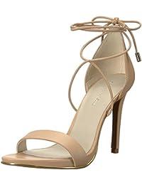 Women's Berry Ankle Wraparound Lacing Heeled Sandal