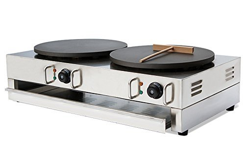 Hanchen Instrument NP-594 Two-plate Commercial Crepe Maker/Electric Pancake...