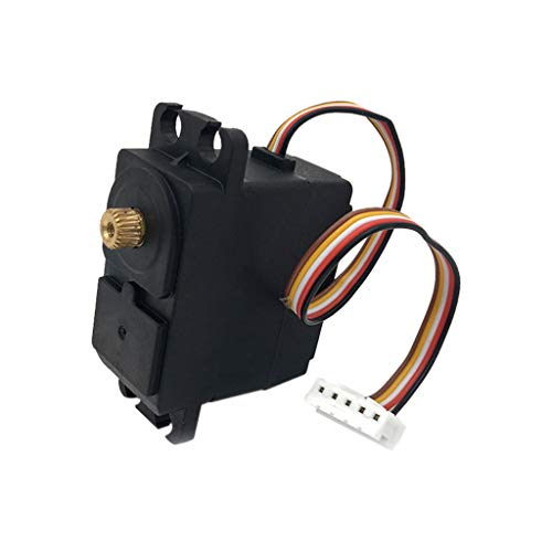 Binory Upgrade Parts 5 Wire Metal Gear Servo for Feiyue FY01/FY02/FY03/FY04/FY05 RC Car