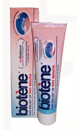 Biotene 50 g Oral Balance Saliva Replacement Gel for Relief of Dry Mouth by GSK Consumer Healthcare (Gel Balance Oral Biotene Moisturizing)