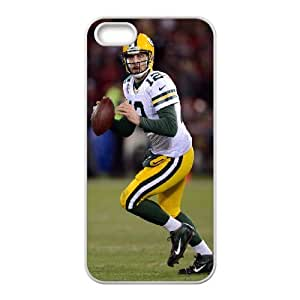 High Quality Phone Case For Apple Iphone 5 5S Cases -Green Bay Packers Aaron Rodgers Jersey iPhone Cell Phone Case Cover-LiuWeiTing Store Case 10