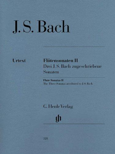 Flötensonaten II (Englisch) Taschenbuch – 1. Juli 1981 Hans Eppstein Johann Sebastian Bach Flötensonaten II Henle