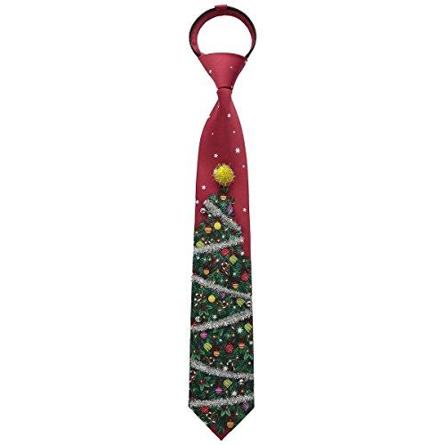 Christmas Zipper Tie - 1