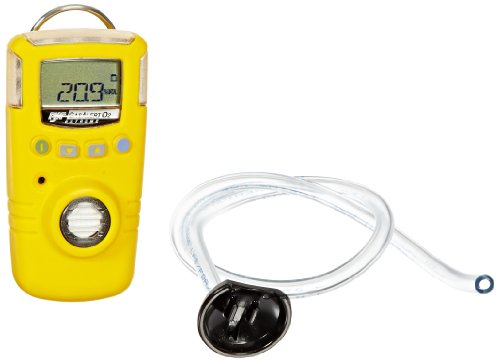 BW Technologies GAXT-X-DL-2 GasAlert Extreme Oxygen (O2) Single Gas  Detector, 0-30 0 Percent Measuring Range, Yellow